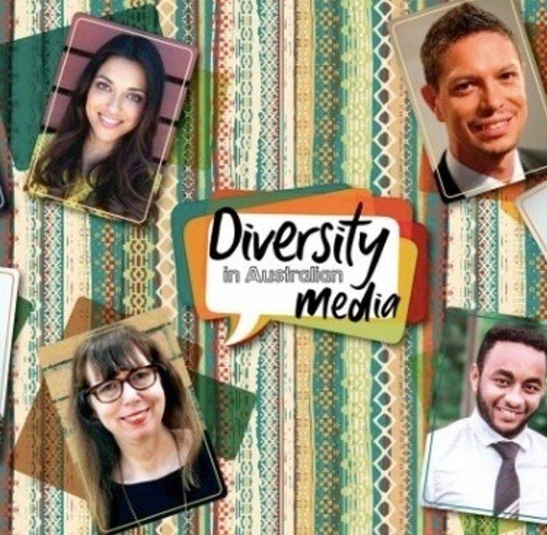 Diversity in the media poster